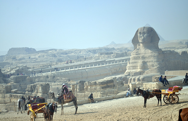 Como visitar as Pirâmides do Egito